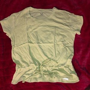NWT Madewell shirt with cinched waist size small